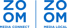 Zoom Media Connect Logo